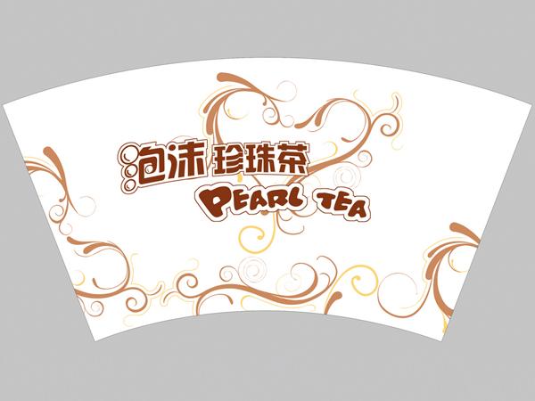 广东泡沫奶茶杯杯片