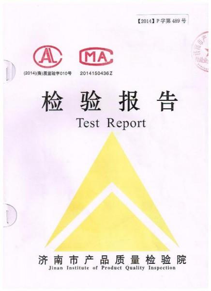 东北检验报告